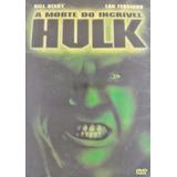 Dvd Hulk A Morte Do Incrivel Hulk - Lacrado - 1t