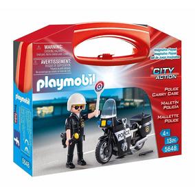 Playmobil Maletin Policia 5648linea City Action Educando