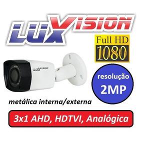 Camera 2mp All Hd 3x1 Ecd 1080p Inf Lente 3,6 Ip67 Luxvision