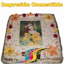 Obleas Impresas Pasteles Gelatinas Cupcakes Postres