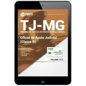 Apostila Tj-mg 2017 Oficial De Apoio Judicial (classe D)