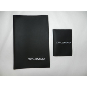 Kit Capa Porta Manual E Documento Gm Caravan Opala Diplomata