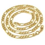 Cadena, Collar En Oro Gold Filled De 18 Kt