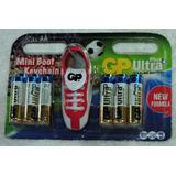 Pack X 12 Pilas Alcalinas Gp Aa Plus Ultra + Llavero