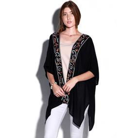 Kimono Negro Tribal - Lob - 1064001 - Negro