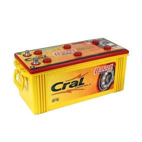 Bateria Automotiva 150ah Baixa Manute - Cral
