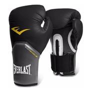 Guantes Boxeo Everlast Elite Pro Style + Funda Box - Olivos