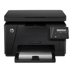 Promoção Impressora Multifuncional Hp M176n Laser Color 110v