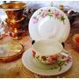 Antigua Taza De Café Porcelana De Bohemia Años 1890 -1905