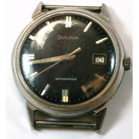 Reloj Bulova Hombre Mecánico Con Calendario