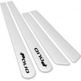 Jogo Friso Lateral Palio 2013 - G5 - 4 Portas Branco #5681