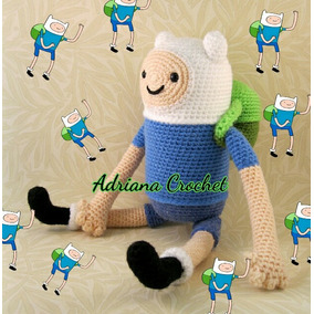 Finn Amigurumi Crochet La Hora De La Aventura