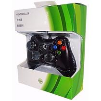 Controle Para Xbox 360 Com Fio Joystick Original Hbh
