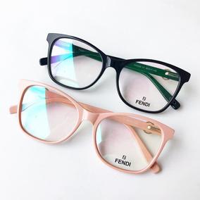 eb9bdd202b7fb Armação Oculos Gatinha Infantil - Óculos Rosa no Mercado Livre Brasil