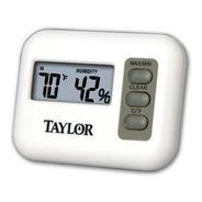 Termohigrómetro Digital Calibrado C Certificado Taylor 1520