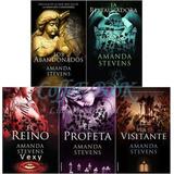 Saga 5 Libros - Amanda Stevens - La Reina Del Cementerio