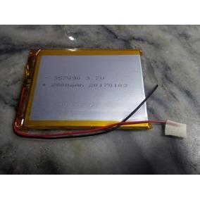 Bateria Para Tablet 7 Pulgadas 3,7v 2800mah