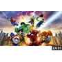 Lego Heroes Painel 3,00x1,60m Lona Festa Banner Aniversario