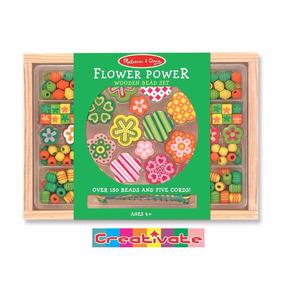 Poder Floral Juego De Cuentas Para Pulsera De Melissa & Doug