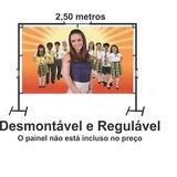 Suporte Para Painel De Festa E Banner E Cortina 2x2,50