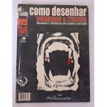 Revista Antiga E Usada Como Desenhar Sombras E Terror 04