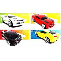 Caixa Som Amplificada Portátil Carro Camaro P2 Usb Cartão Sd