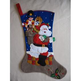 Bota Navideña Navidad Hechas A Mano