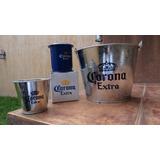 Frapera Cerveza Corona, Y Corta Lima - Combo Premium