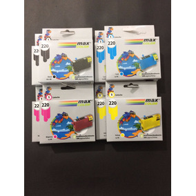 Cartuchos Epson Xp220, Compatibles, Pack De 8 Colores