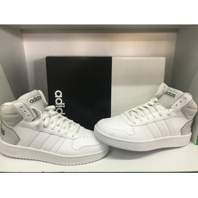 detailed look 1e7db a3e23 Tenis adidas Hoops 2.0 Mid Color Blanco gris No. 5.5 Mx New