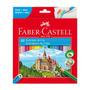 Faber-castell Lápices De Colores Hexagonales - 48 U - Mosca