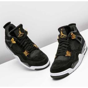 Zapatillas Jordan Retro 4 Royalty Negra . 11 Us