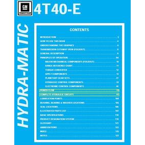 Manual Taller Caja Chevrolet 4t40e Cavalier Lanos Pdf