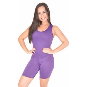Kit 10 Macaquinho Suplex Fitness Academia Feminino Liso Fit