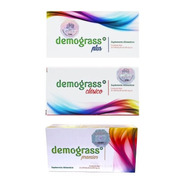 Tratamiento Completo Demograss 1 Plus + 1clásico + 1 Premier