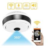 Cámara Seguridad 360 Grados Wifi Ip / Vigilancia / Bx-360i