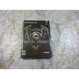 Mortal Kombat Deadly Alliance Ps2 Juego Original 2002 Nuevo