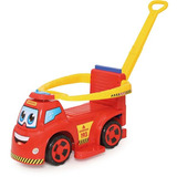 Veículo Para Bebê Big Truck Bombeiros 3x1 Merco Toys
