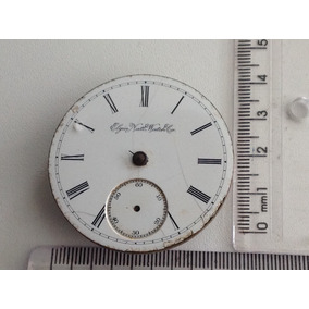 Rara Maquina De Relógio De Bolso Elgin Nalt Watch Co