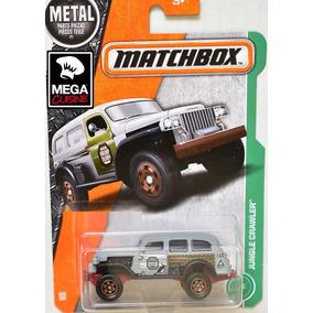 Camion Jungle Crawler Matchbox Coleccion 1:64 Metal