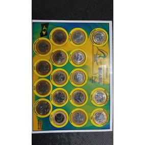 Colección Con 17 Monedas De Las Olipíadas De Brasil 2016