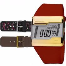 Relógio Mormaii Digital Kit Troca Pulseira Fza/n8v