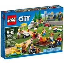 Lego 60134 - City - Diversão No Parque Pessoas Da Cidade