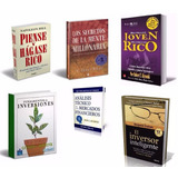 Kit 6 Libros Para Ser Millonario, Formato Digital