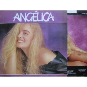 Angelica Vou De Taxi Lp Vinil Cbs 1988 Com Encarte Poster