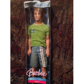 Ken Beach Glam Original Mattel Coleccion Regalo