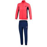 Conjunto Puma Tricot Suit 594979-18 Rosa Marino Pv