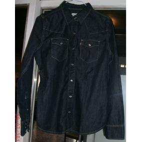 Camisa De Jean Azul. Talle 1 - Small. Marca: Levis