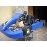 Kart Crg Com Motor De Rd 135 Preparado Marchas No Volante