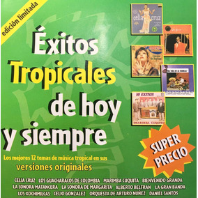 Cd Exitos Tropicales Celia Cruz Sonora Matancera Xochimilcas